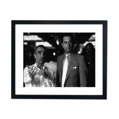 Culture Decor Martin Scorse and Robet DiNiro Framed Photographic Print