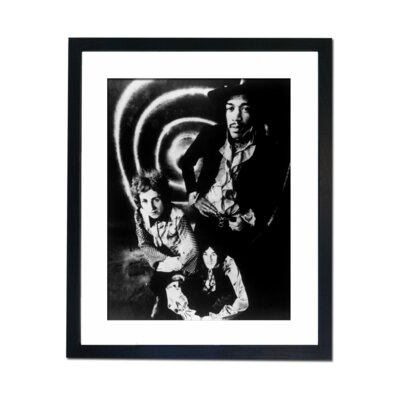 Culture Decor The Jimmy Hendrix Experience Framed Photographic Print