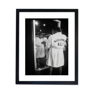 Culture Decor Muhammad Ali Grooming Framed Photographic Print