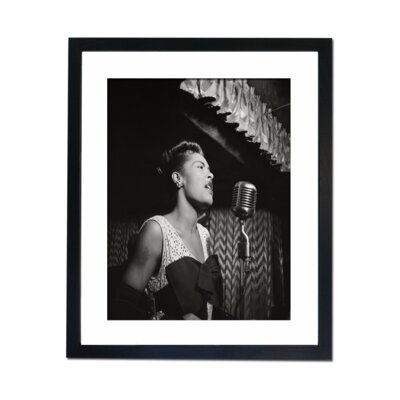 Culture Decor Billie Holiday Framed Photographic Print