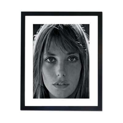 Culture Decor Jane Birkin - Portrait Framed Photographic Print