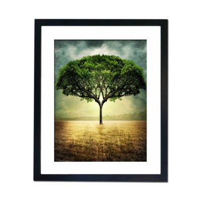 Culture Decor Tree of Light Framed Graphic Art