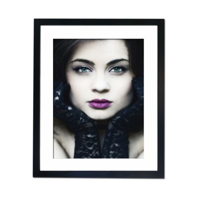 Culture Decor Green Eyed Girl Framed Photographic Print