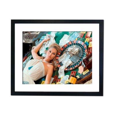 Culture Decor Ursula Andress - Casino Royal Framed Photographic Print