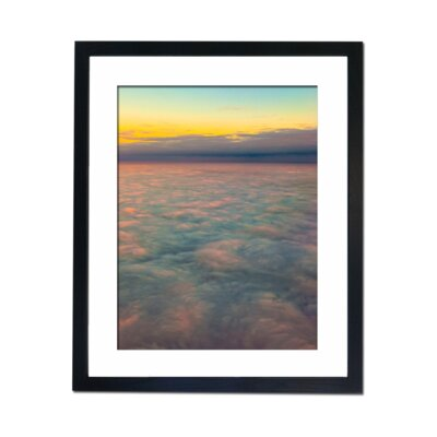 Culture Decor Sea of Clouds Framed Graphic Art