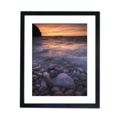 Culture Decor Pebble Beach Framed Photographic Print