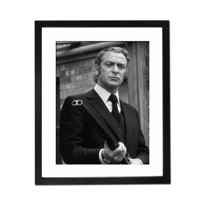 Culture Decor Michael Caine - Get Carter Framed Photographic Print