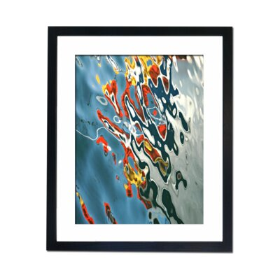 Culture Decor Reflections Framed Graphic Art