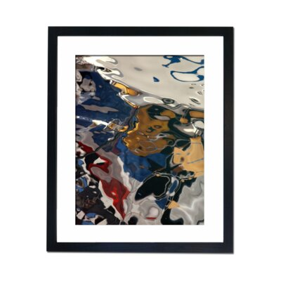 Culture Decor Reflecting Water Framed Graphic Art