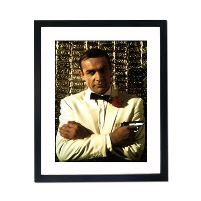 Culture Decor Sean Connery - Goldfinger Framed Photographic Print