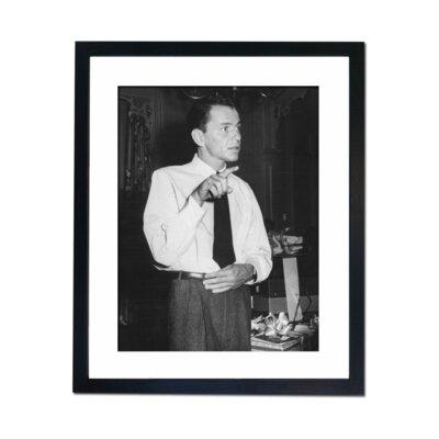 Culture Decor Frank Sinatra Framed Photographic Print
