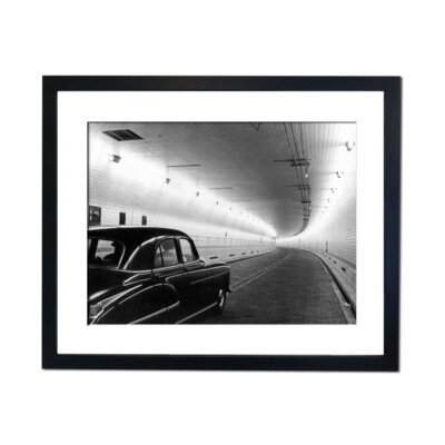 Culture Decor Tunnel to Where Framed Photographic Print