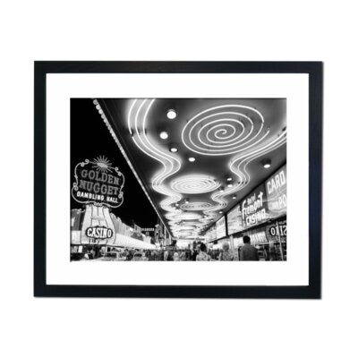 Culture Decor Las Vegas - 1965 Framed Photographic Print