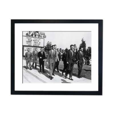 Culture Decor The Rat Pack - A Place in The Sun Framed Photographic Print