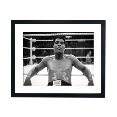 Culture Decor Muhammad Ali Framed Photographic Print