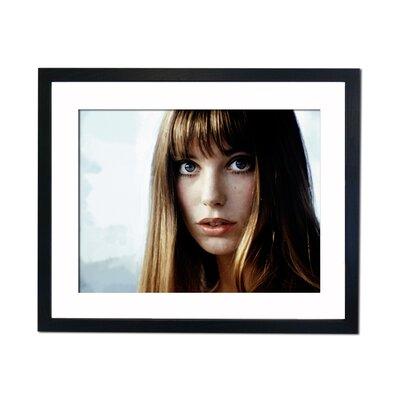 Culture Decor Jane Birkin Framed Photographic Print