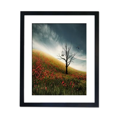 Culture Decor Fly Away Framed Graphic Art