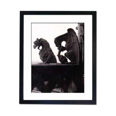 Culture Decor Gargoyles Framed Photographic Print