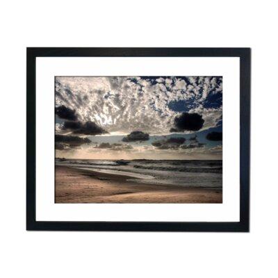 Culture Decor Cloudy Sky's Framed Photographic Print