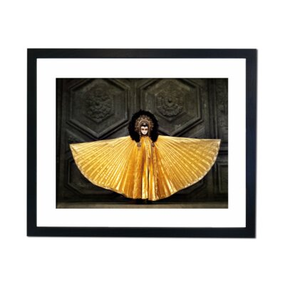 Culture Decor Venetian Angel Framed Photographic Print