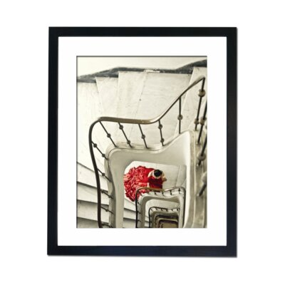 Culture Decor Red On White Framed Photographic Print