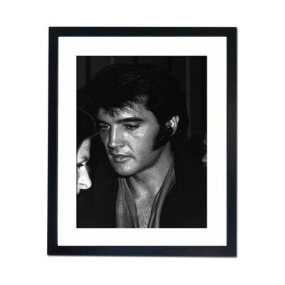 Culture Decor Elvis Portrait Framed Photographic Print