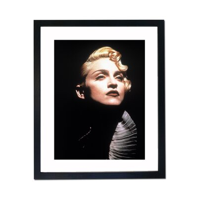 Culture Decor Madonna Portrait Framed Photographic Print