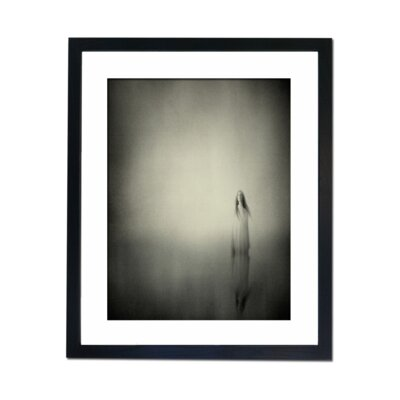 Culture Decor Ghost White Framed Art Print