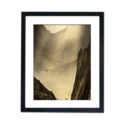 Culture Decor Boating Behind The Ravine Framed Photographic Print
