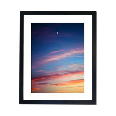 Culture Decor Crescent Moon Framed Photographic Print