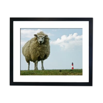 Culture Decor Perspective Framed Photographic Print