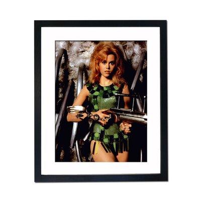 Culture Decor Jane Fonda - Barbarella Framed Photographic Print