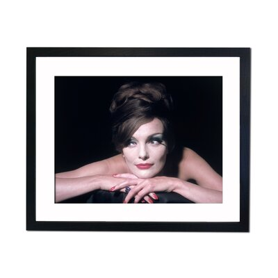 Culture Decor Chic Model Framed Photographic Print