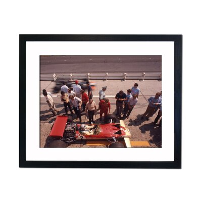 Culture Decor Jackie Stuart Framed Photographic Print