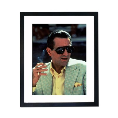 Culture Decor Robert DeNiro Framed Photographic Print