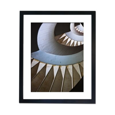 Culture Decor Spiraling on Framed Graphic Art