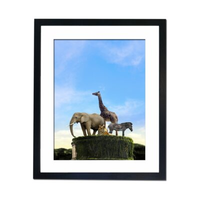 Culture Decor Surreal Animals Framed Photographic Print