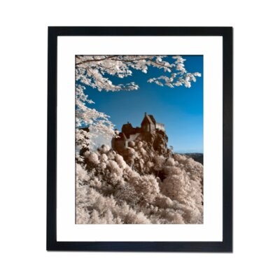 Culture Decor Blossom Temple Framed Photographic Print