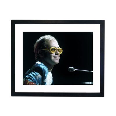 Culture Decor Elton John Framed Photographic Print