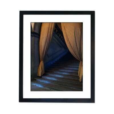 Culture Decor Mysterious Steps Framed Photographic Print