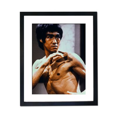 Culture Decor Bruce Lee Framed Photographic Print