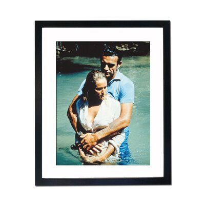 Culture Decor Sean Connery Ursula Andress Framed Photographic Print