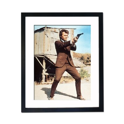Culture Decor Clint Eastwood - Dirty Harry Framed Photographic Print