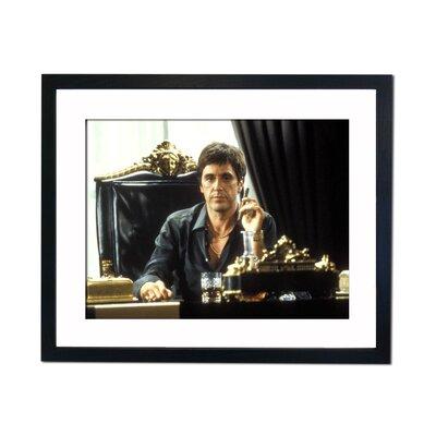 Culture Decor Al Pacino - Scarface Framed Photographic Print