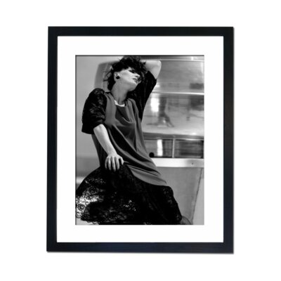 Culture Decor Glamour in Black Framed Photographic Print