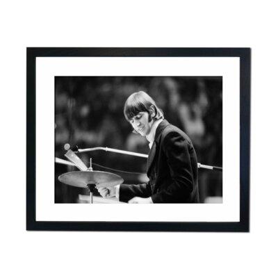 Culture Decor Ringo Star Framed Photographic Print