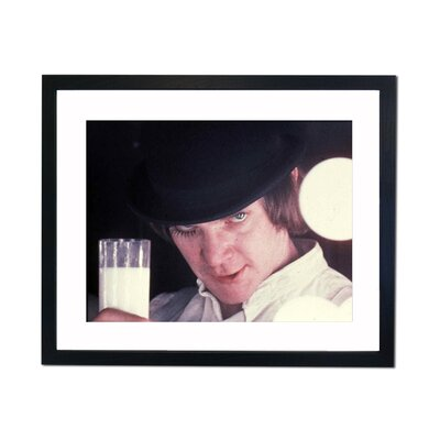 Culture Decor Malcolm McDowell - Clockwork Orange Framed Photographic Print