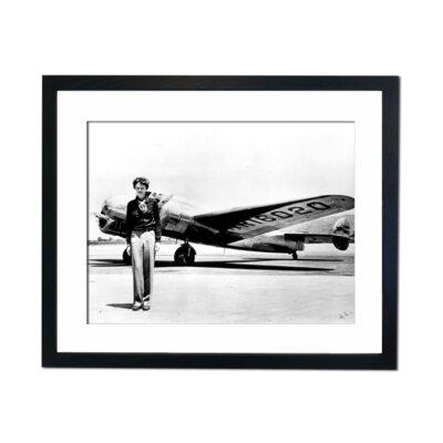 Culture Decor Amelia Earhart Framed Photographic Print