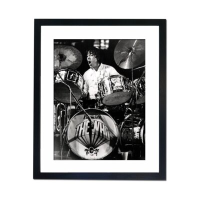 Culture Decor Keith Moon - The Who Framed Photographic Print