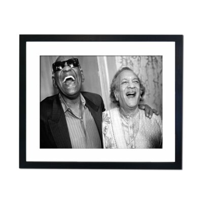 Culture Decor Ray Charles Framed Photographic Print